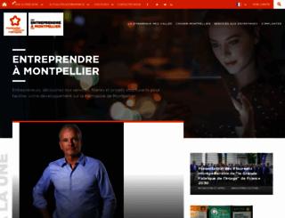 entreprendre-montpellier.com screenshot