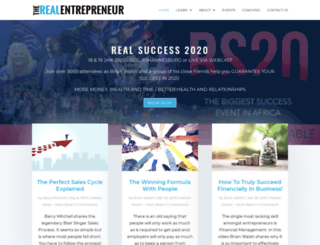entrepreneur.co.za screenshot