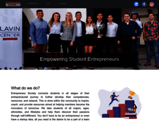 entrepreneur.sdsu.edu screenshot