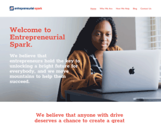 entrepreneurial-spark.com screenshot