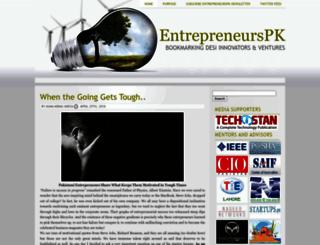 entrepreneurs.pk screenshot