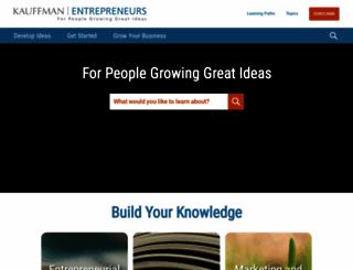 entrepreneurship.org screenshot
