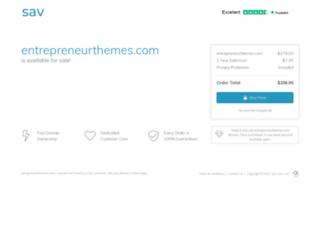 entrepreneurthemes.com screenshot