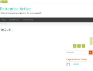 entreprise-active.com screenshot