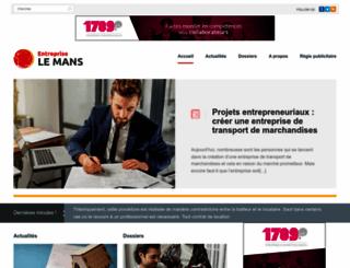 entreprise-le-mans.com screenshot