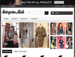 entreprise-mode.com screenshot