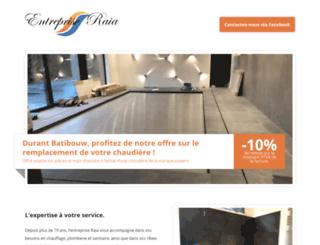 entreprise-raia.be screenshot