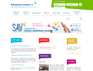 entreprise-reunion.re screenshot