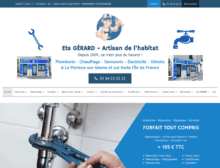 entreprisedeplomberie.fr screenshot