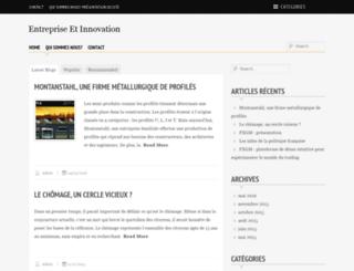 entreprises-et-innovation.fr screenshot