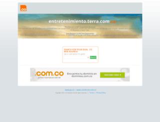 entretenimiento.terra.com.co screenshot