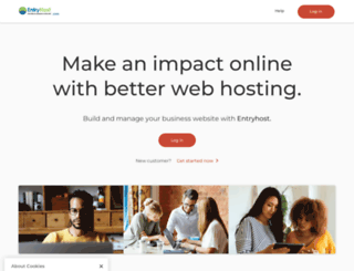 entryhost.com screenshot