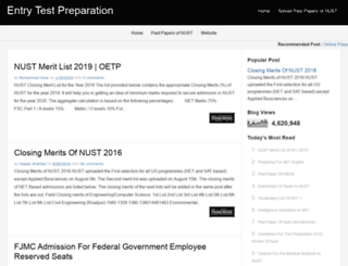 entrytest-preparation.blogspot.com screenshot