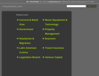 entrytestedu.com screenshot