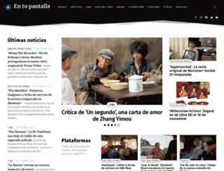 entupantalla.com screenshot