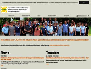 entwicklungsdienst.de screenshot