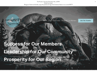 enumclawchamber.com screenshot