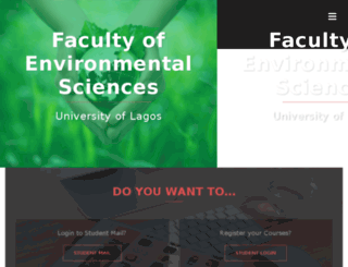 env.unilag.edu.ng screenshot