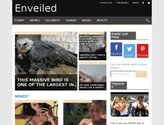 enveiled.com screenshot