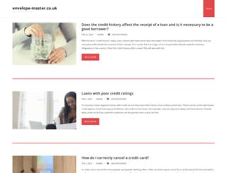 envelope-master.co.uk screenshot