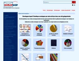 envelopshop.nl screenshot