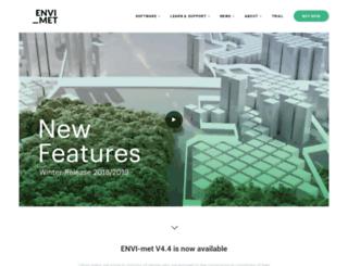 envi-met.com screenshot