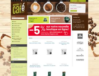 enviedecafe.com screenshot
