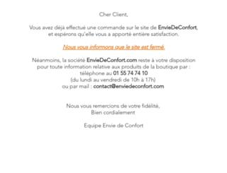enviedeconfort.com screenshot