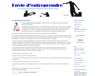 enviedentreprendre.com screenshot