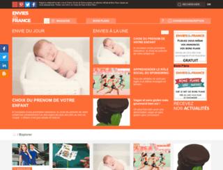 envies-de-france.fr screenshot
