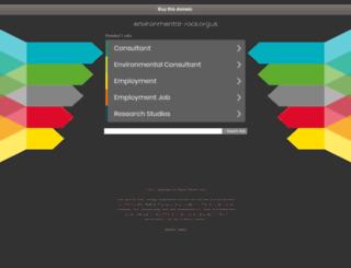 environmental-rock.org.uk screenshot