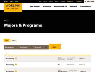 environmental-studies.adelphi.edu screenshot