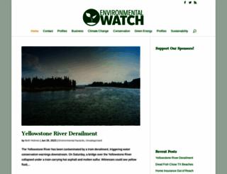 environmental-watch.com screenshot