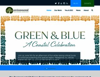 environmentaldefencecenter.org screenshot