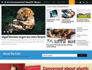 environmentalhealthnews.org screenshot