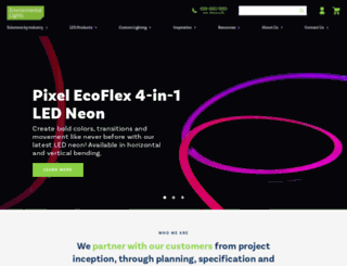 environmentallights.com screenshot