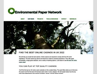 environmentalpaper.eu screenshot