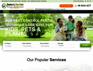 enviropestcontrol.com.au screenshot