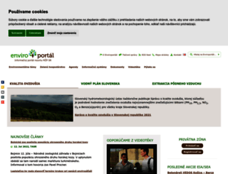 enviroportal.sk screenshot