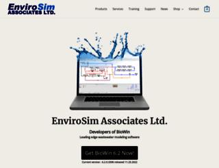 envirosim.com screenshot