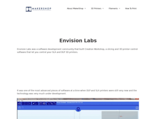 envisionlabs.net screenshot