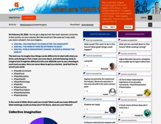 envisionucdavis.org screenshot