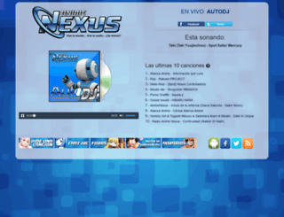 envivo.animenexus.mx screenshot
