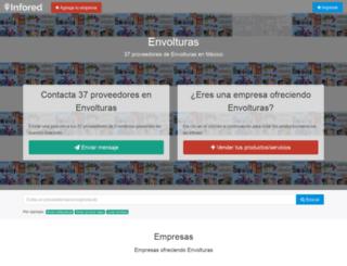 envolturas.infored.com.mx screenshot