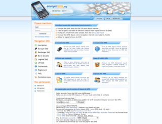 envoyersms.org screenshot