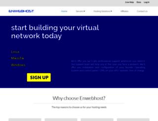 enwebhost.com screenshot