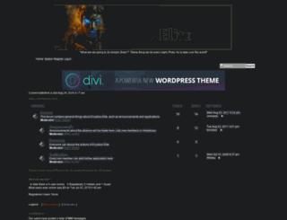 enyalioselite.forumotion.net screenshot