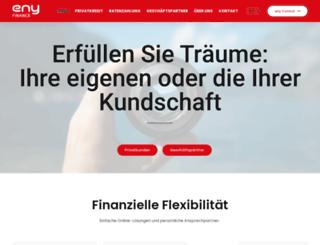 enyfinance.ch screenshot