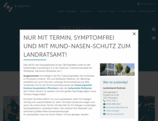 enzkreis.de screenshot