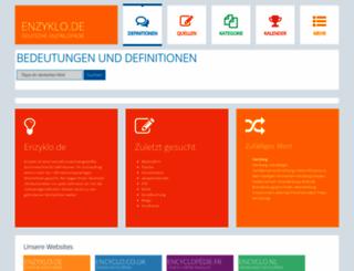 enzyklo.de screenshot